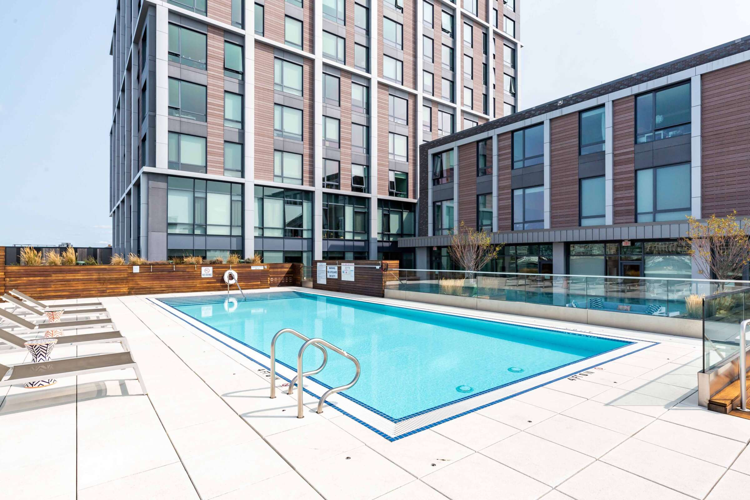 The Eddy East Boston Apartments Amenities 14 pool deck