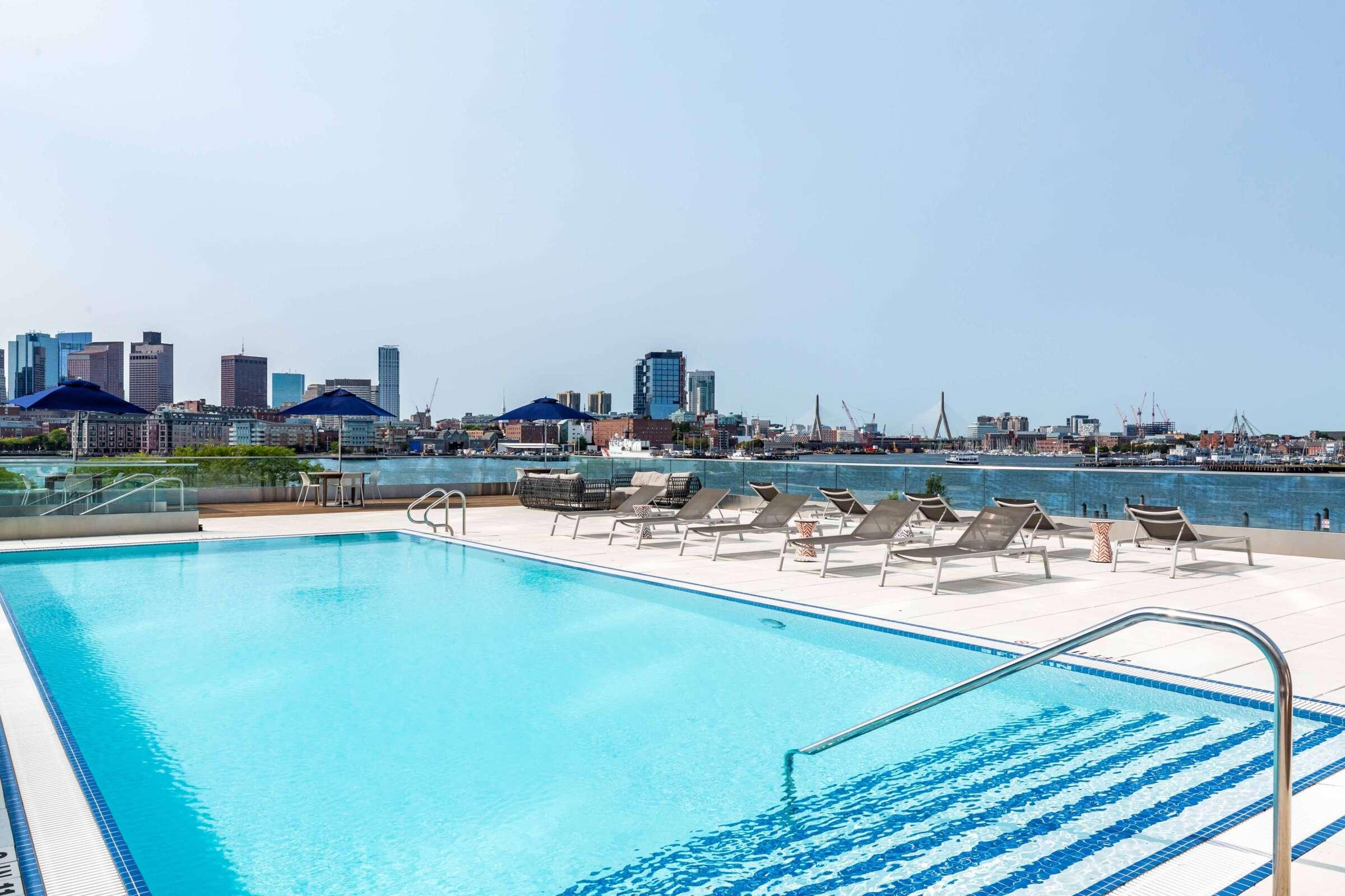 The Eddy East Boston Apartments Amenities 15 pool deck