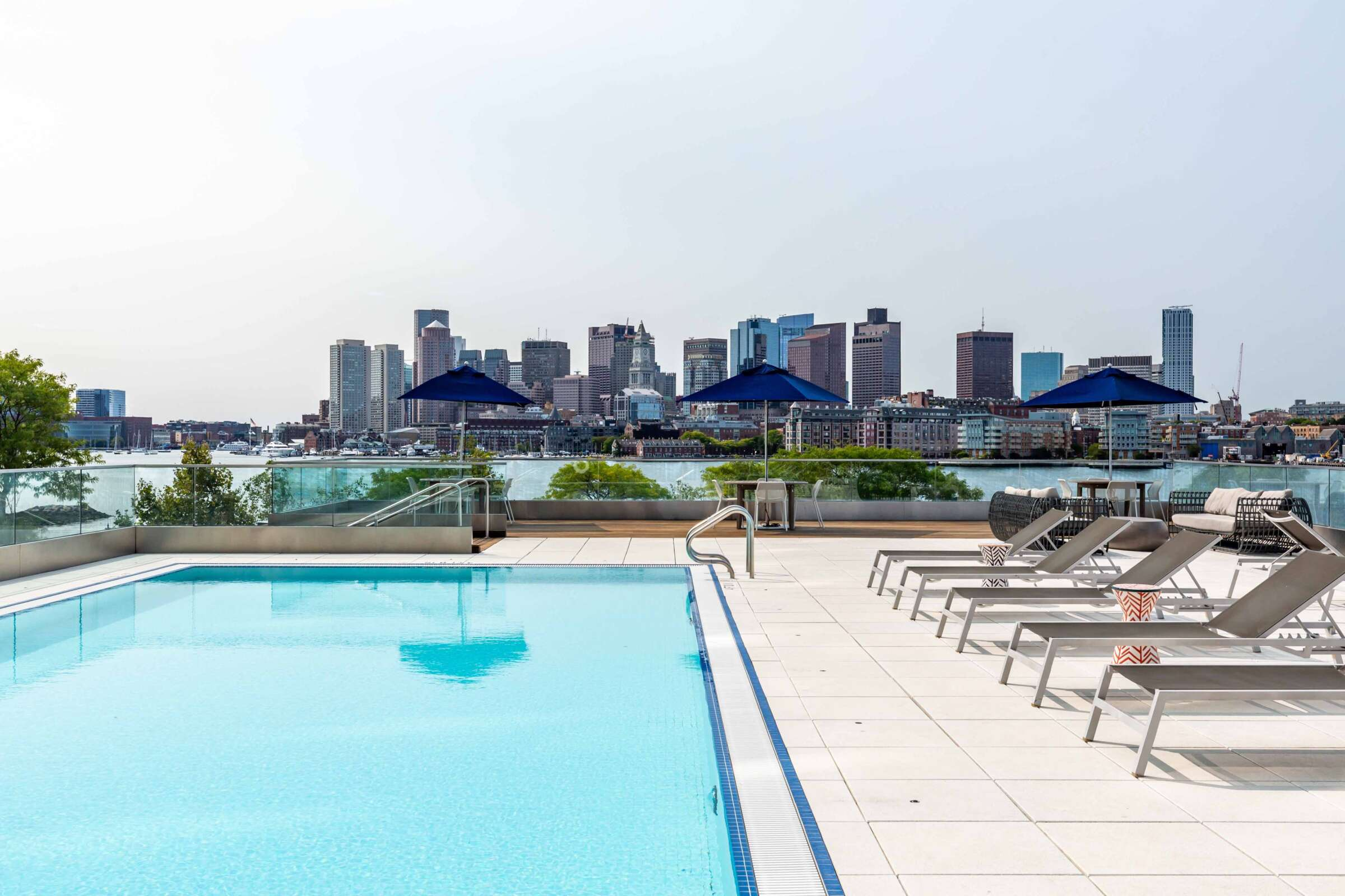 The Eddy East Boston Apartments Amenities 16 pool deck