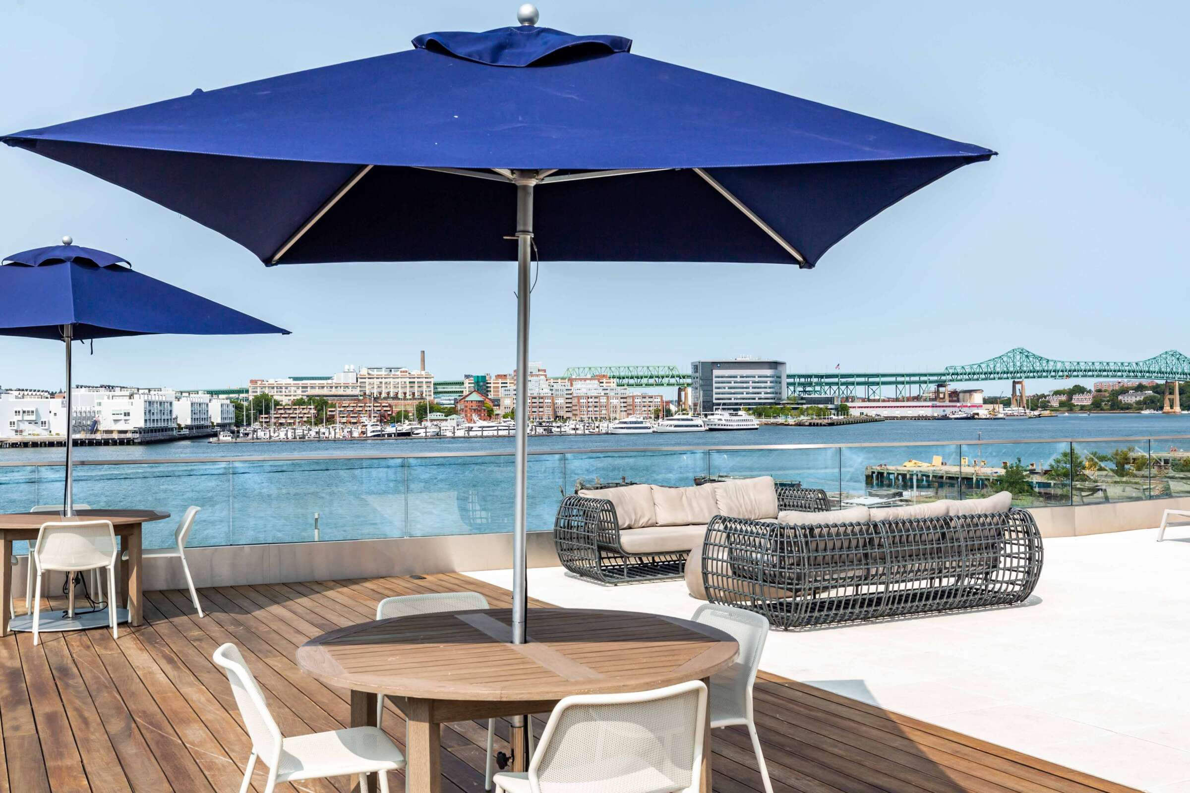 The Eddy East Boston Apartments Amenities 20 pool deck
