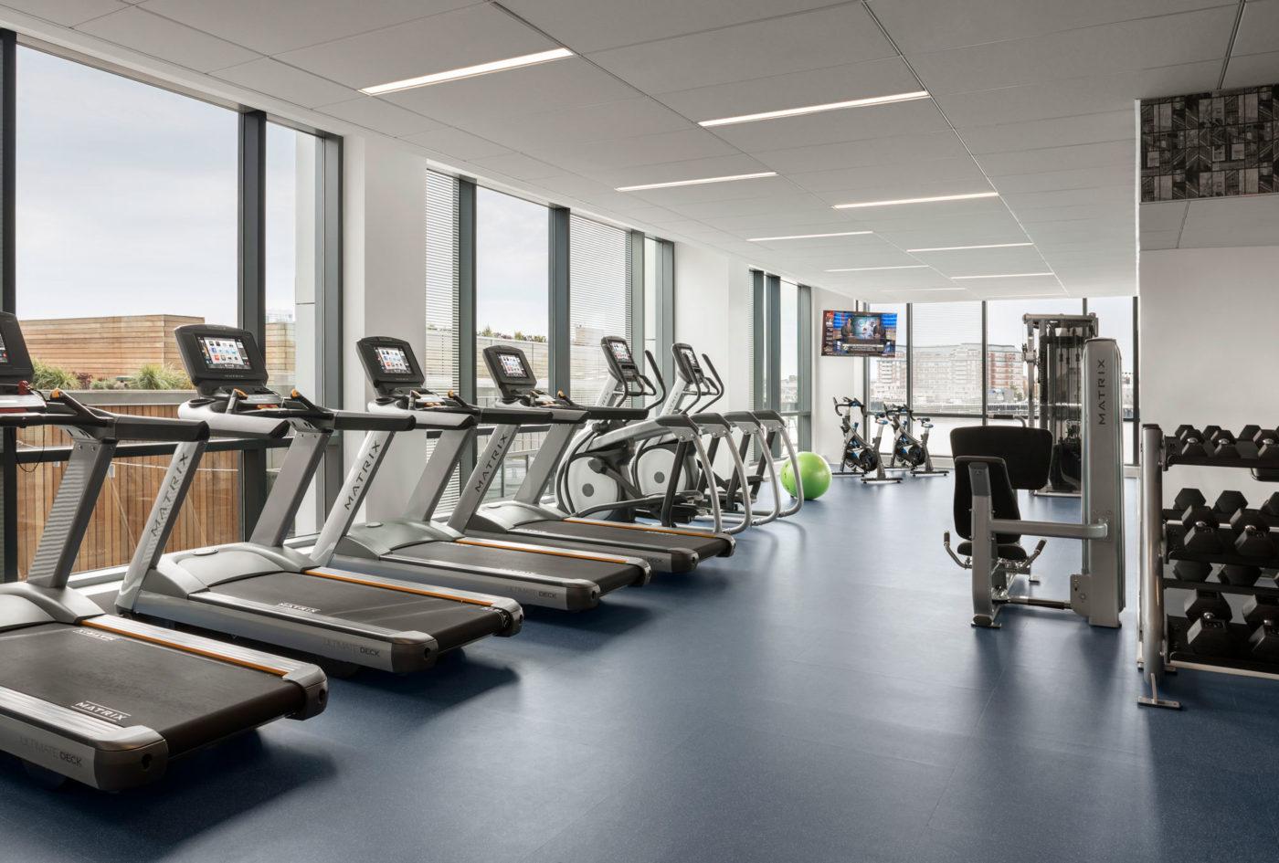 Eddy fitness room